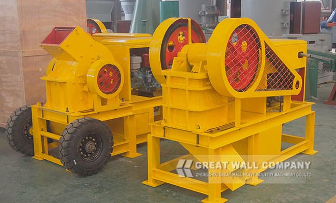 diesel engine crusher ready for crushing plant Mozambique