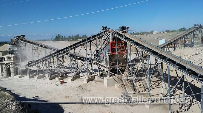 small jaw crusher and spring cone crusher in crushing plant