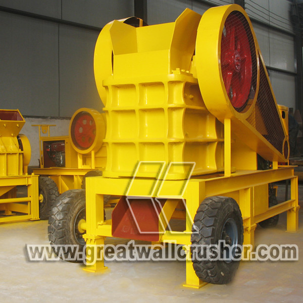 diesel engine jaw crusher for 15 tph granite crushing plant