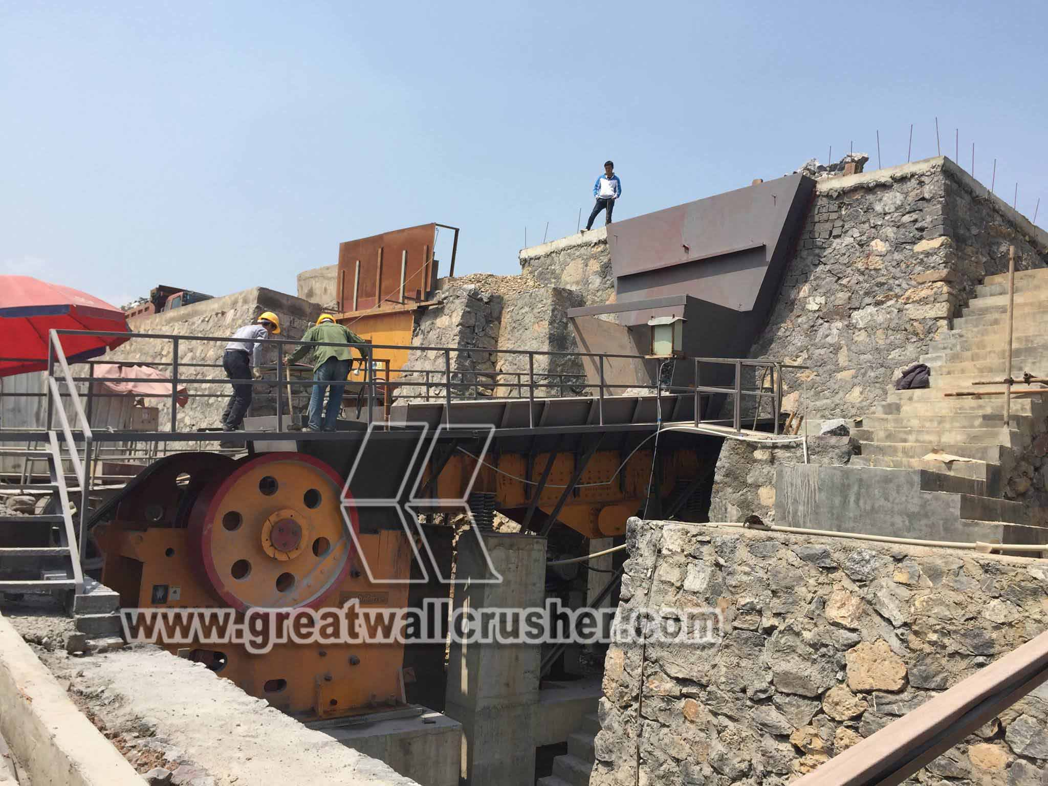 small jaw crusher for gravel crushing plant Philippines