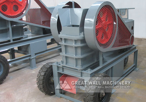 Mini jaw crusher working parameter in stone crusher lines